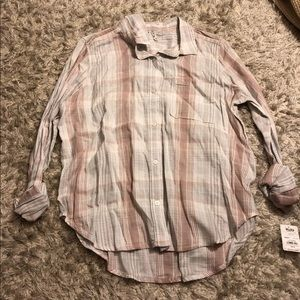 Cute Mudd Flannel NEW WITH TAGS